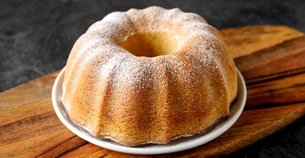 Бабовка (Bábovka) сладкий кекс традиционный для Чехии, Польши, Словакии