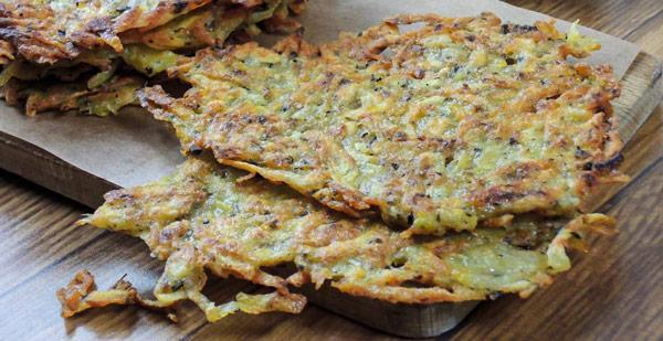 Брамбораки (Bramboráky) чешские картофельные оладьи