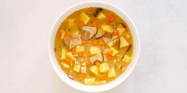 Брамборачка (Bramboračka) чешский картофельный суп