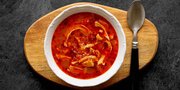 Дрштькова (Dršťková) чешский суп
