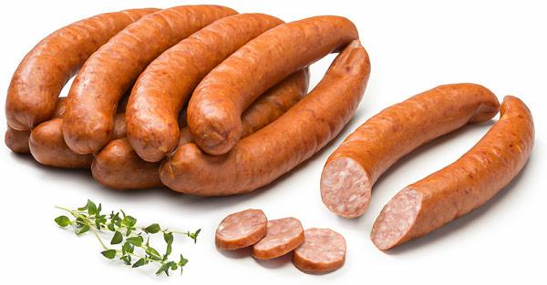 Клобаса (Klobása) чешская пряная колбаса из рубленого мяса