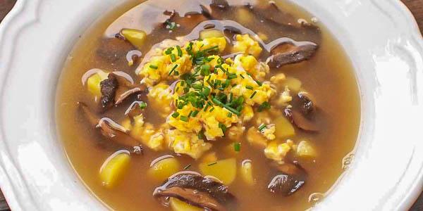 Кисело (Kyselo) чешский суп на ржаной закваске