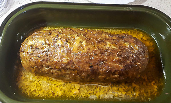 Секана печенэ (Sekaná pečeně) чешское блюдо из рубленого мяса