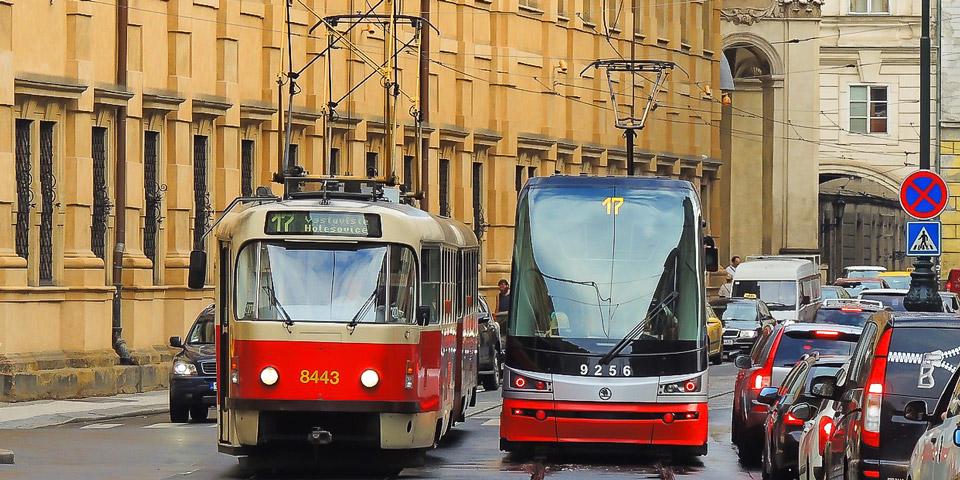 Транспорт в Праге проезд на трамвае