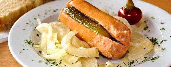 Утопенец (Utopenec) чешская маринованная колбаса