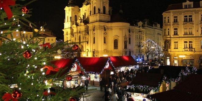 Погода в Праге на новый год и рождество