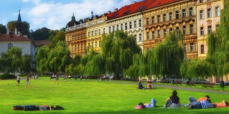 Погода в Праге в августе