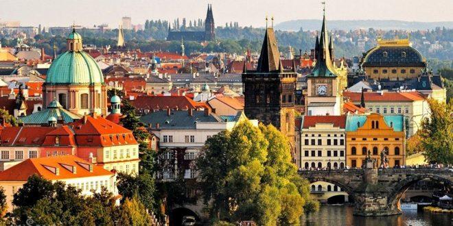 Погода в Праге в августe