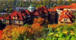 Погода в Праге в октябре